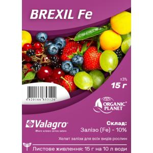 Brexil Fe (Брексіл Залізо), мікроелементи в хелатній формі, 15 г, Valagro