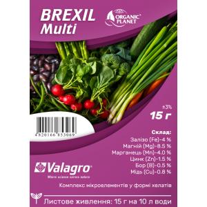 Brexil Multi (Брексіл Мульті), мікроелементи в хелатній формі, 15 г, Valagro