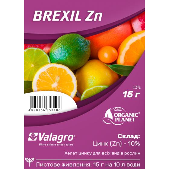 Brexil Zn (Брексіл Цинк), мікроелементи в хелатній формі, 15 г, Valagro