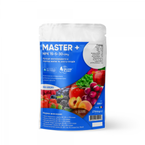 Master (Мастер), Мінеральне добриво, 250 г, NPK 15-5-30, Valagro