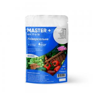 Master (Мастер), Мінеральне добриво, 250 г, NPK 17-6-18, Valagro