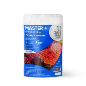 Master (Мастер), Мінеральне добриво, 250 г, NPK 18-18-18, Valagro