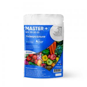 Master (Мастер), Мінеральне добриво, 250 г, NPK 20-20-20, Valagro